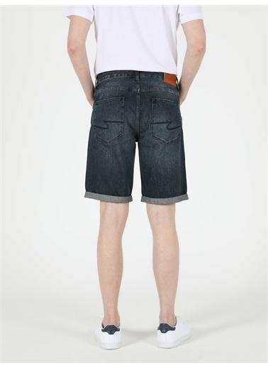 Colin's CL1049610_Q1.V1_DN40747 045 Davıd Orta Bel Orta Regular Fit Jean Erkek Jean şort Renkli